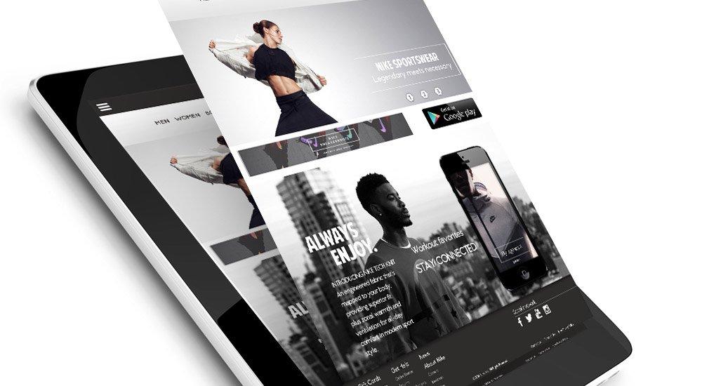 visuel miniature Site e-commerce UI/UX – Nike