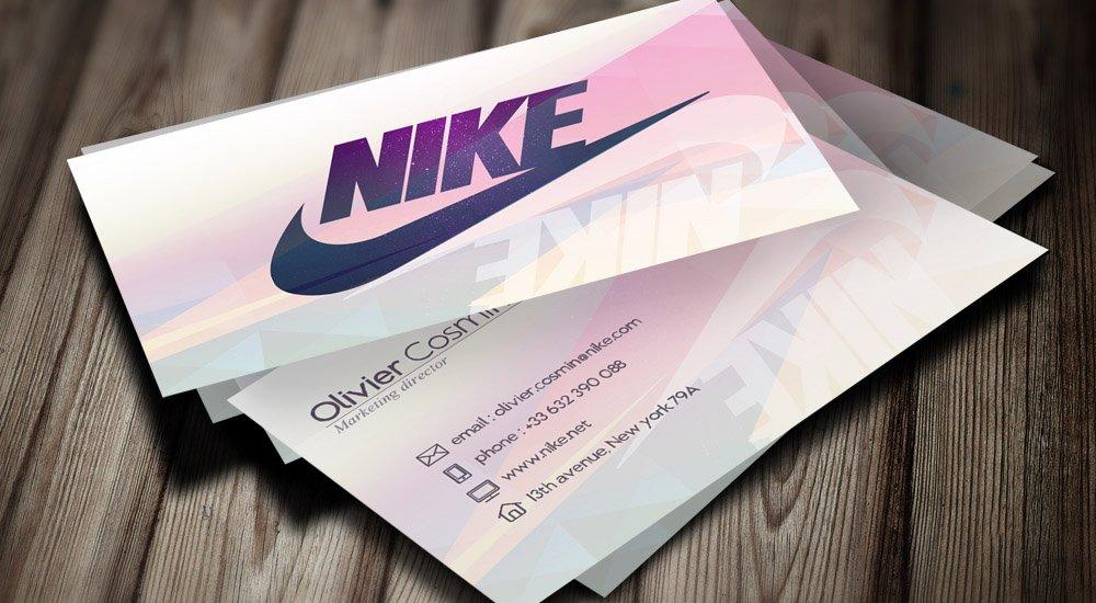 visuel miniature Cartes de visite – Nike