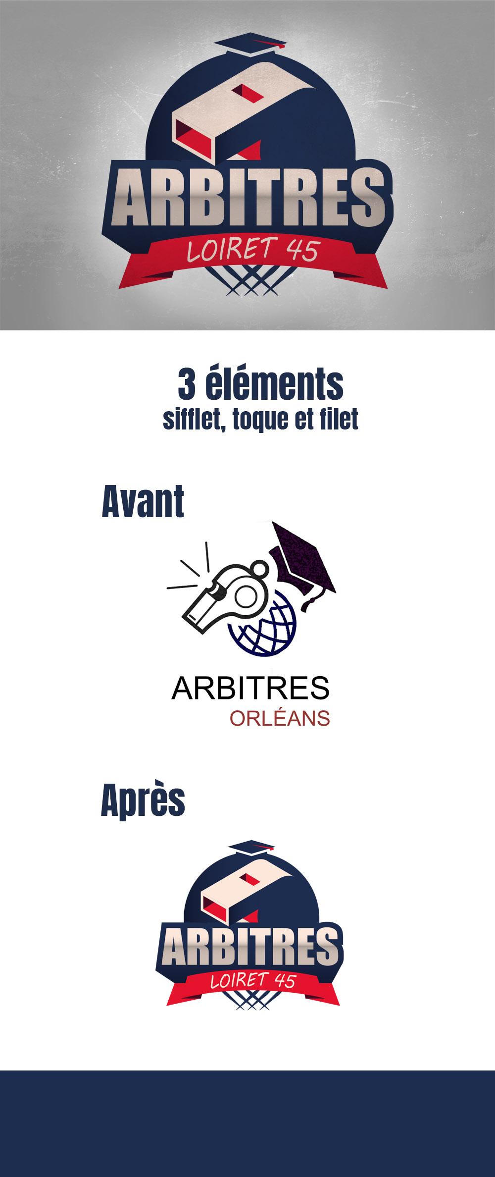 visuel Section sportive arbitres Loiret 45