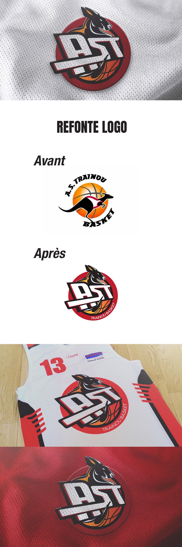 visuel Club de basket AST