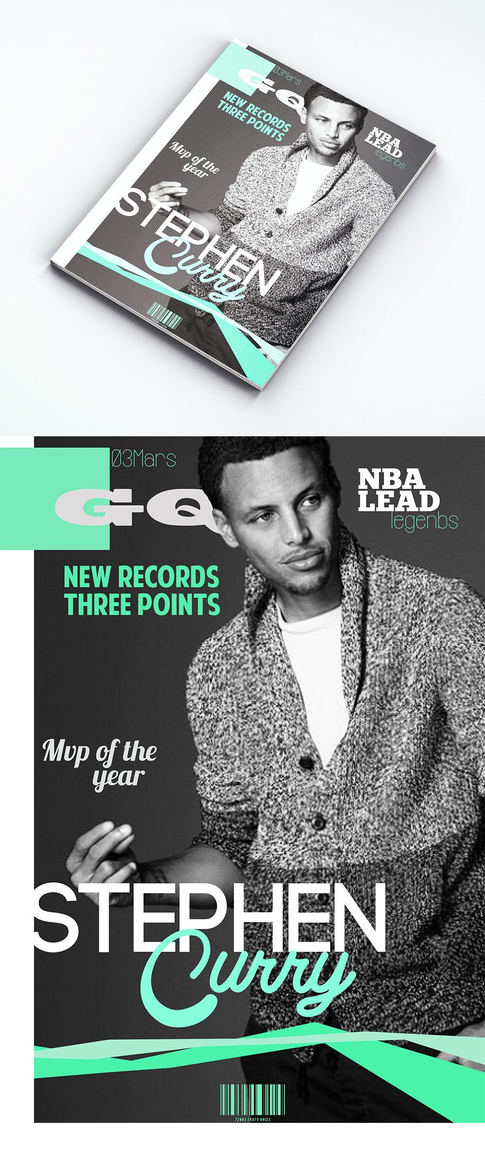 visuel Couverture de magasine GQ