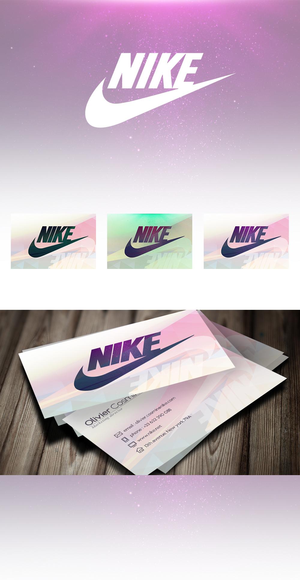 visuel Cartes de visite – Nike
