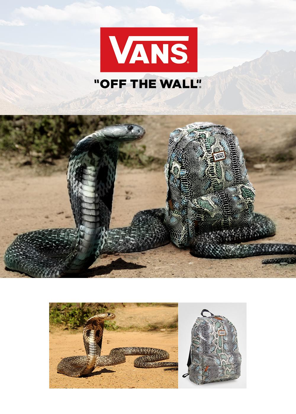 visuel Lancement produit publicité Vans
